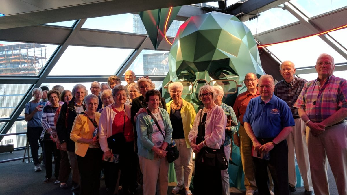 Homestead Village Residents enjoy a visit to Philadelphia attractions