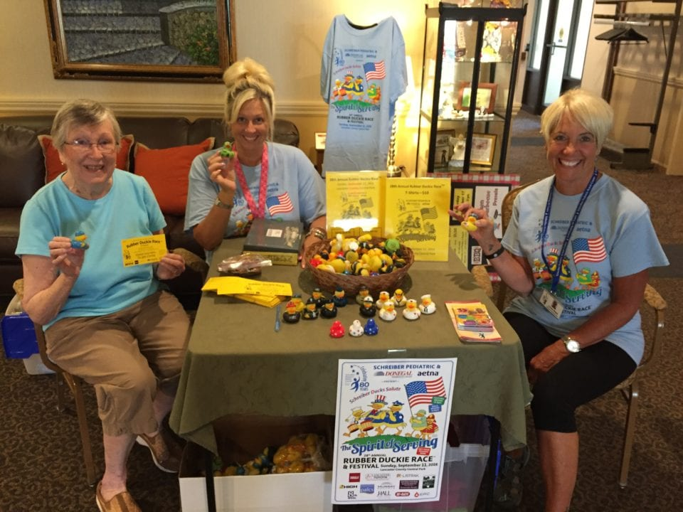 Homestead Village Residents Volunteer with local non profit organizations