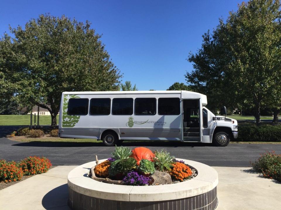 Homestead Village Shuttle Bus