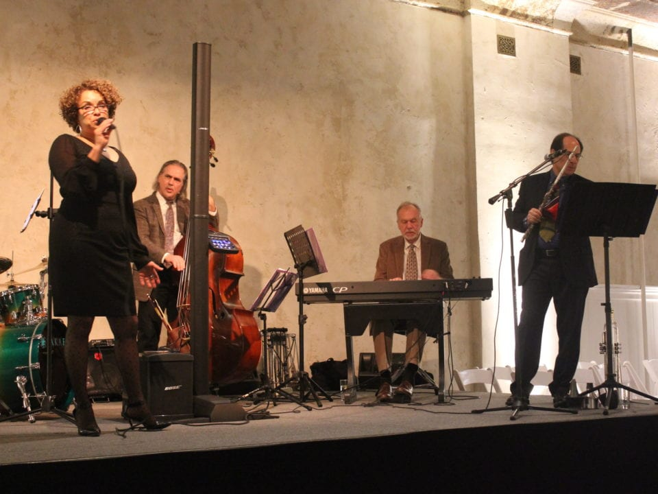 Local Celebrity Amy Banks performs at the Homestead Village 30th Anniversary Gala