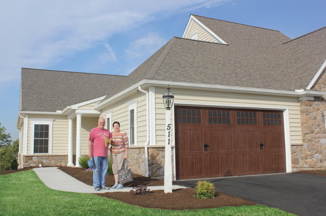 Couple moving into The Farmstead new carriage home