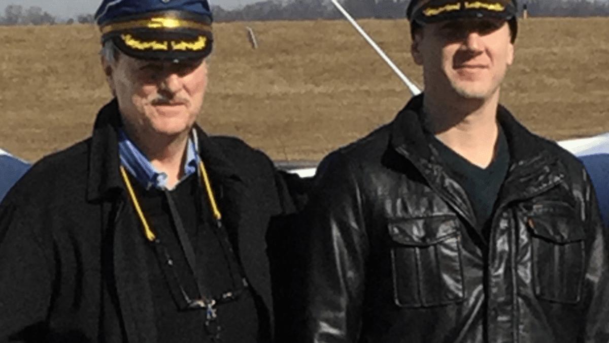 Airplane Captain and Dan