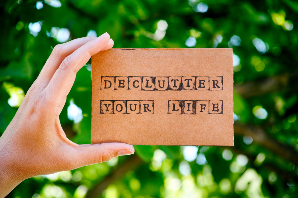 Declutter your life Image