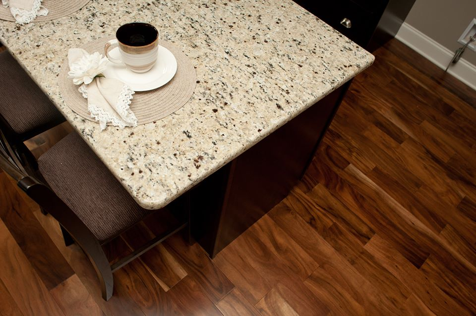 There are lots of options to finish your kitchen at The Farmstead! Granite counter tops are always standard.