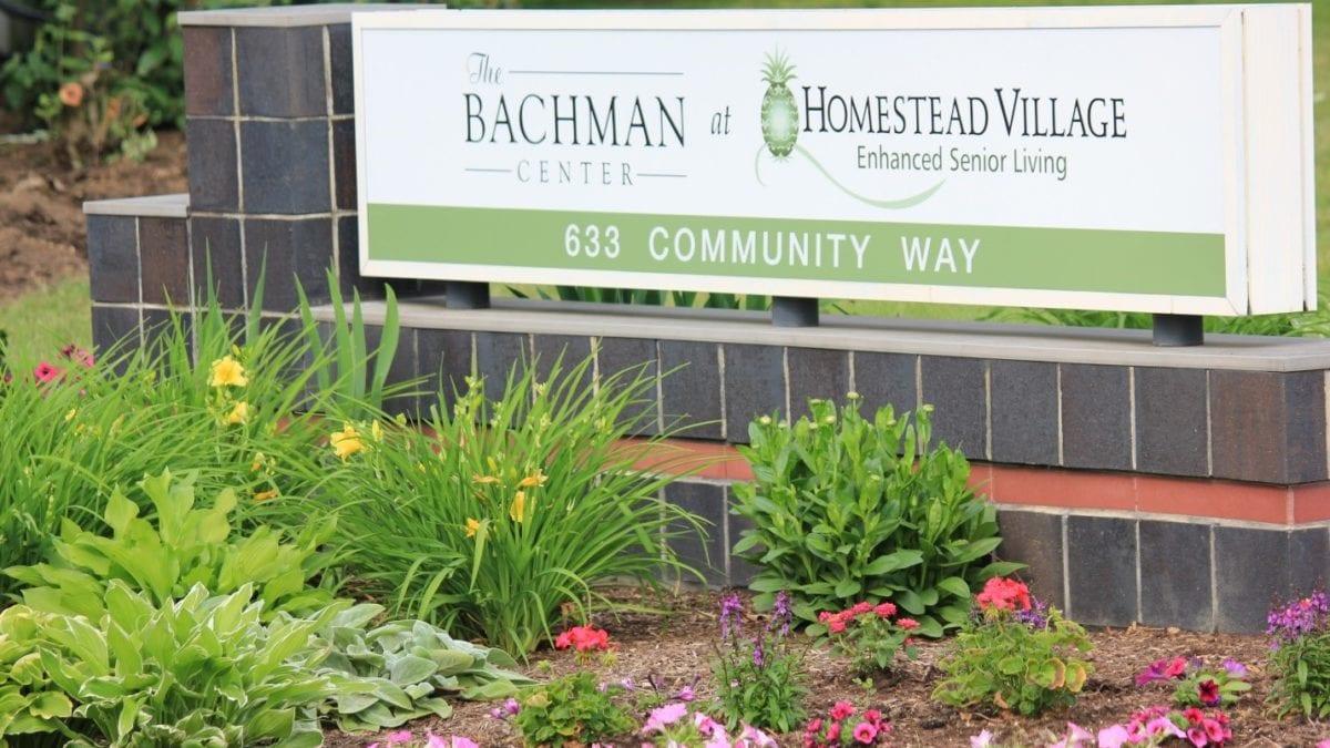 homestead village campus sign