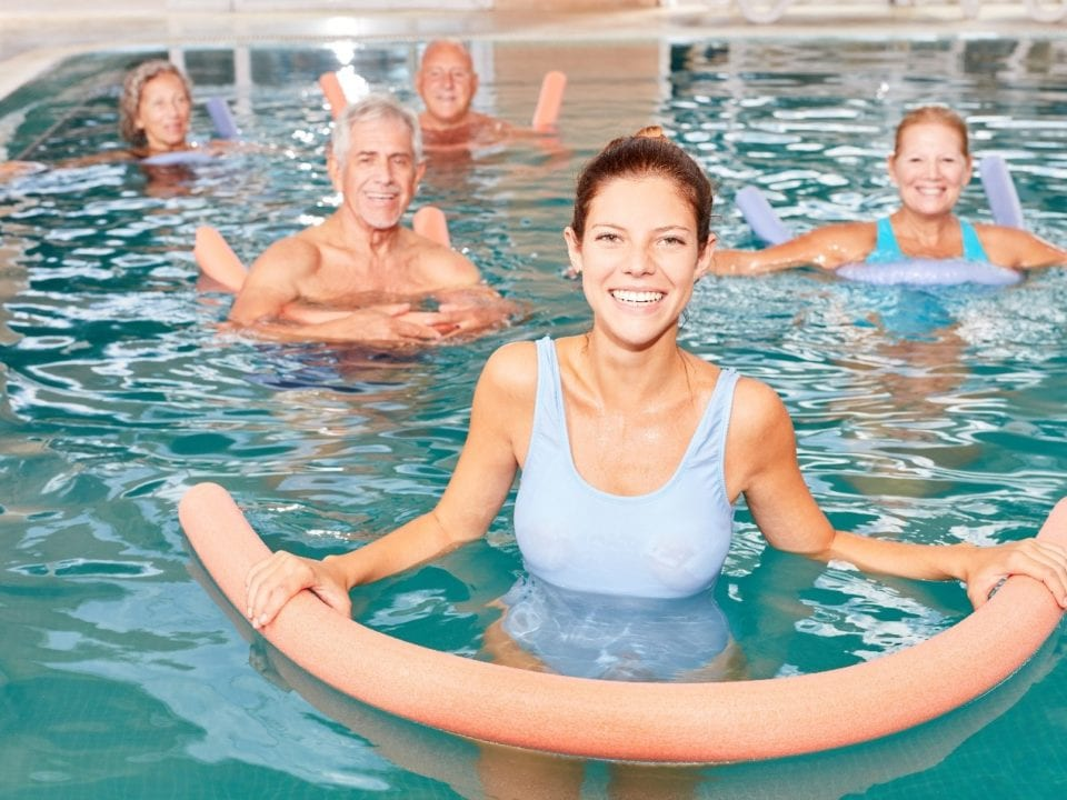 Pool Exercises for Mature Adults