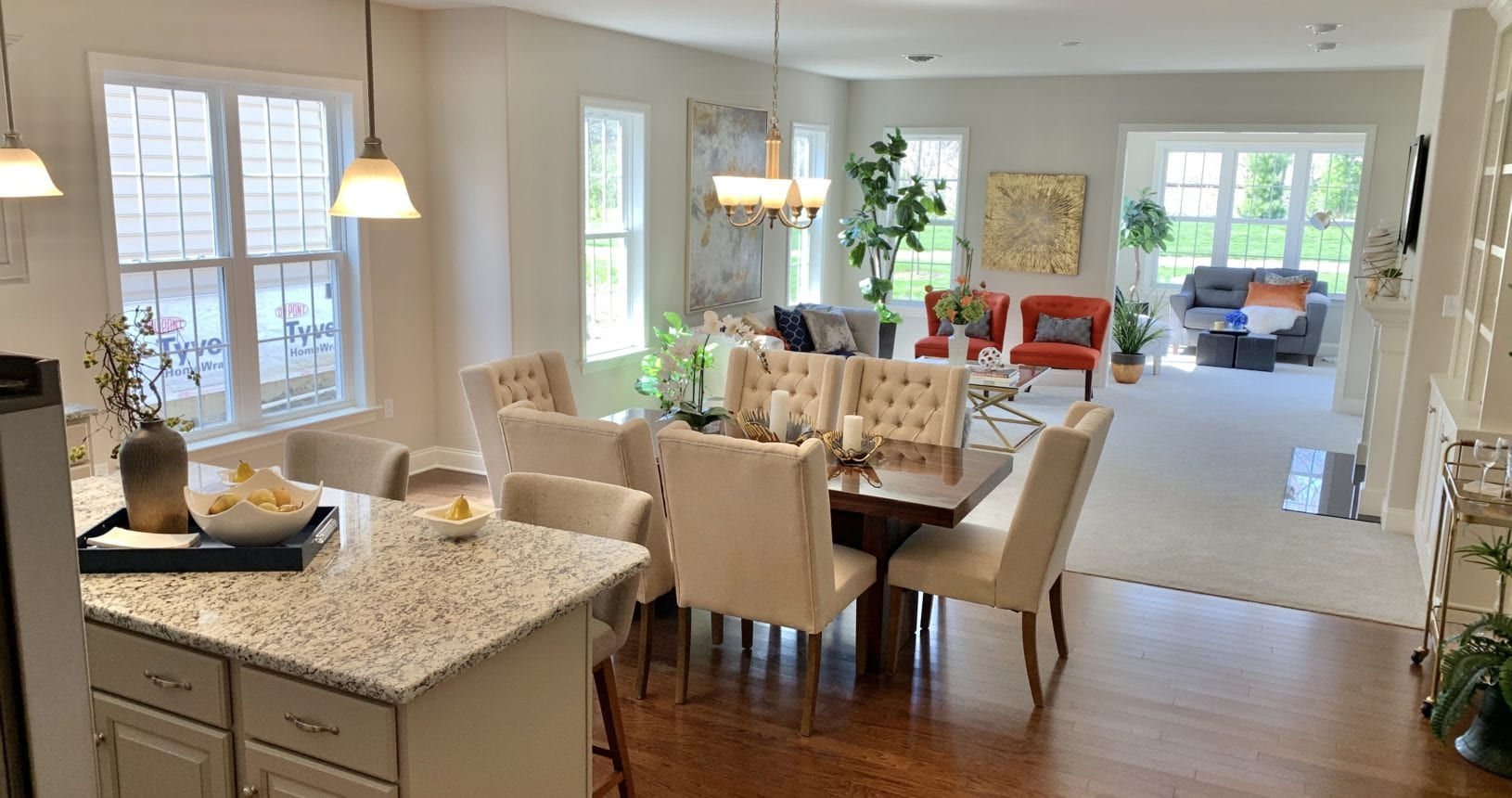 The Boxwood One floor plan at The Farmstead at Homestead Village