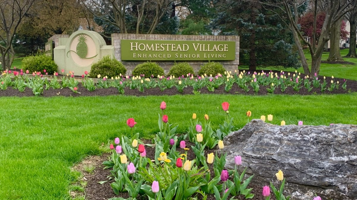 Homestead Village Main Entrance